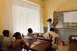OM Madagascar has started its second literacy program in Ambovombve, to the south of the island. Nine students are currently enrolled.