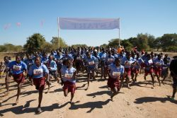 549 people of all ages and from all walks of life turned up for the first-ever 5km Siabuwa Challenge. As a result, funds were raised to help build a community centre.