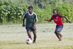 A village soccer team is changing the lives of its players.