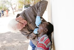 Lourie Ferreira is a qualified dentist serving in Sesheke, Zambia