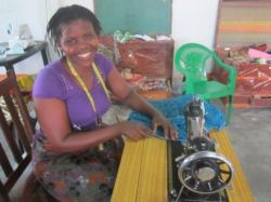 Otilia is one of the beneficaries of the Tabitha skills programme in Mozambique