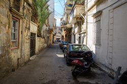 Narrow roads lead to homes in the Near East.  Photo by Garrett Nasrallah