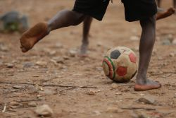 Football is being used at Lake Tanganyika, Zambia, to reach out to young boys and make disciples.