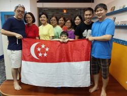 Golden Age People (GAP) team from Singapore