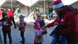 Gevgeljia refugee camp, december 2015