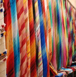 Market in North Africa hosts local handicrafts. Photo by Raquel White