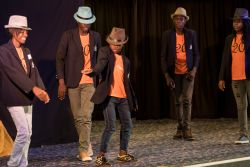 Maputo, Mozambique :: Children from the IRIS Ministries put on a dance  performance for crewmembers of Logos Hope.