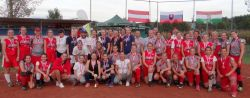 OM and Erd Softball Field host the Tri. Country Danube Cup.