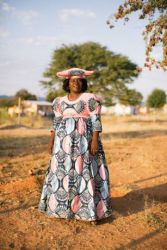 Uatjaa Zilliox, and her husband, Philippe, have opened their home freely to the children of their community in northwestern Namibia.