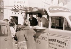 The book van was a creative way of distributing Christian literature in Spain in the early sixties.