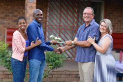 Nico and Alma handed-over leadership position to John and Lerato after serving for eleven years.