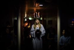 At Sea :: Elsa Steinberg (Faroe Islands) performs the Northern European song Santa Lucia.