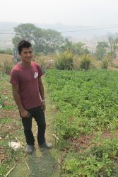 A Shiloh Farms Intern trainied and mobilized to transform his community