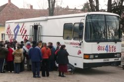 The Bus4Life in Hungary