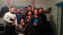 Altai woman accepted Christ during DC student outreach.