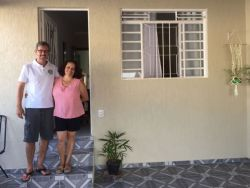 Vitor and Ivanir Christovam, people care for LAM, constantly welcome guests into their home, in Brazil and during their years in Moldova.