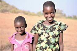Witness (left) and Theresa (right) from the Sukuma tribe in Tanzania.