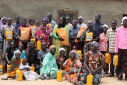 OM South Sudan team leads the famine relief project.