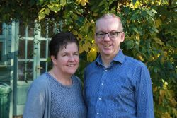 Arthur and Nicky Magahy, leaders of MDT (Missions Discipleship Training) in the UK.