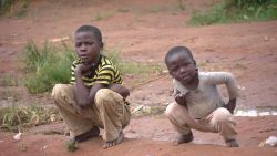 Kids pose for a photo in Kasama, Zambia.