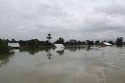 In many countries in South Asia, many villages are flooded, homes destroyed, crops washed away and seed for planting ruined. OM team members in Myanmar partnered with a local church to distribute emergency relief bags, with rice, oil and other non-food items to flooding victims in southern Myanmar.